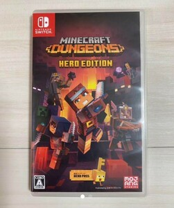 Minecraft Dungeons Hero Edition マインクラフトダンジョンズ  switchソフト