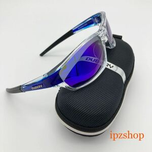 DUBERY 偏光 サングラス UVカット 新品 未使用 送料無料 ブルーミラーレンズ 大人気 即決 運転 釣り サイクリング エギング スポーツ