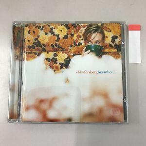 CD 輸入盤 中古【洋楽】長期保存品 ebbaforsberg beenthere