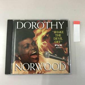 CD 輸入盤 中古【洋楽】長期保存品 DOROTHY NORWOOD