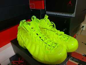 NIKE AIR FOAMPOSITE PRO VOLT 28 one camo Halloween Anthracite yeezy fighter jet kobe 1 2 3 4 5 6 more uptempo
