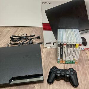 プレイステーション3 本体(120GB) +ソフト8本