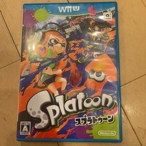 スプラトゥーン WiiU WiiUスプラトゥーン ソフト Splatoon Nintendo WiiUソフト
