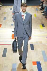 Dior hommeシルク混セットアップスーツ/ディオールオムエディスリマンクリスヴァンアッシュチューブジャケット