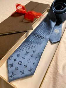【新品】正規ルイヴィトン クラヴァットミックスモノグラム ネクタイ 定価 32,400円