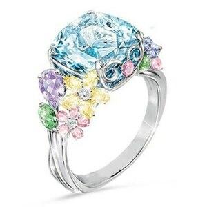 注目◆☆希少品☆絢爛豪華☆ダイヤモンドリング・指輪 6ct※プレゼント・贈り物※【プラチナ仕上】誕生日 結婚式 指輪