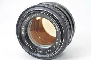 稀少レンズ フジカ FUJICA EBC FUJINON 50mm F1.4 ♯A793-1