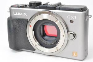 外観きれい・動作好調 パナソニック Panasonic LUMIX DMC-GX1 シルバー ボディ ♯A1188