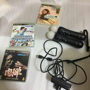 PlayStation Move モーションコントローラ PlayStation Eye 肉弾 スポーツチャンピオン