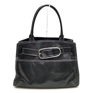 送料無料 フルラ FURLA ハンドバッグ トートバッグ 鞄 レザー 本革 伊製 イタリア製 黒 ブラック系 レディース