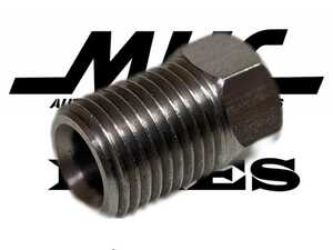 M10-1.0 3/16 flair nut made of stainless steel brake line for made for repair 2 piece set MHC made
