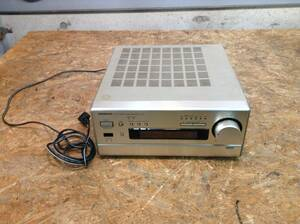 w210910-028B4 ONKYO R-811M チューナーアンプ 通電のみ確認 アンプ ラジオ AM FM チューナー レトロオーディオ