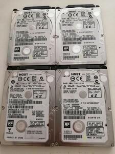 HGST HDD 320GB 2.5インチ 4枚セット
