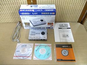 EDIROL/エディロール Roland オーディオ キャプチャー UA-20 ジャンク品 24bit デジタル MIDI インターフェイス 札幌市 中央区