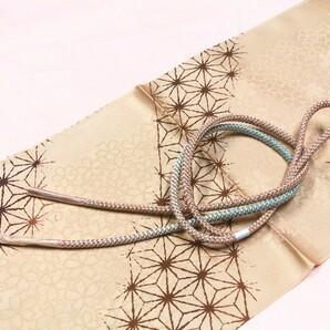 正絹お洒落帯締め帯揚セット NO331