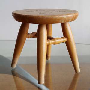 Boda Tra Sweden Pine Stool by Erik Hoglund 197X / スウェーデン エリックホグラン スツール / ペリアン ウェグナー idee ジャンヌレ