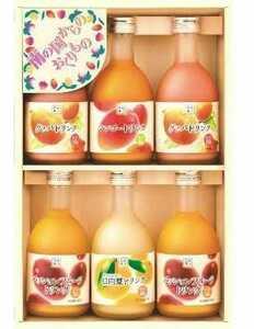 1箱300ml×6本 トロピカルフルーツジュース グァバ パッションフルーツ マンゴー 日向夏 ギフト詰め合わせ
