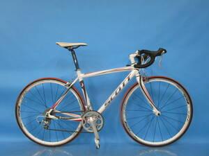即決 ☆大阪西淀☆ SCOTT SPEEDSTER S45.1 アルミ ロードバイク STIレバー TIAGRA 700C 2×9 スコット スピードスター 中古 自転車 S46