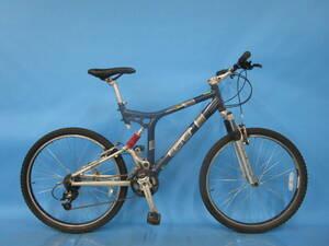 即決☆大阪西淀☆ GT TIMBERLINE IDRIVE アルミ マウンテンバイク 26インチ 3×7 ティンバーライン ドライブ シマノ ALIVIO 中古自転車 S80