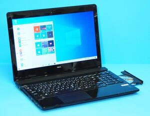 ♪良品 上位モデル LAVIE Note Standard NS350/AAB♪ 第5世代 Core i3 5005U/メモリ8GB/SSD:256GB/Blu-ray/カメラ/Wlan/Office2019/Win10
