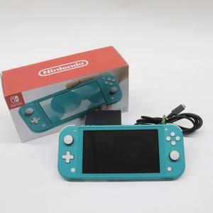 任天堂 スイッチ ライト 本体 ターコイズ HDH-S-BAZAA 中古 Nintendo Switch Lite ニンテンドー スイッチライト
