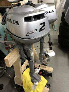 2馬力船外機 ホンダ BF2 HD現行モデルも対応 アルミプロペラ2枚セット 割りピン付き 説明必読!プロペラの販売です。