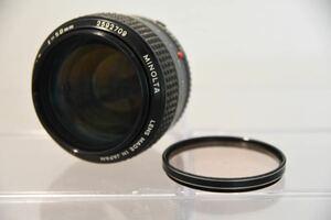 MINOLTA ミノルタ MC ROKKOR-PG F1.2 58mm 単焦点 レンズ LENS Y8