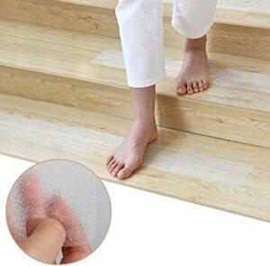 階段マット 滑り止めテープ 階段滑り止め粘着テープ 屋内屋外 スリップ防止 転倒防止 強粘着力 自由カット 無毒材料PEVA製