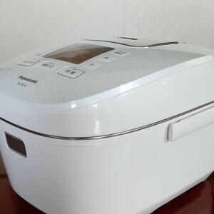 IHジャー炊飯器 SR-HB109-W (ホワイト) Panasonic 炊飯器5.5合