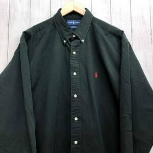 ラルフローレン POLO Ralph Lauren Polo 長袖シャツ メンズ ワンポイント Lサイズ 7-238