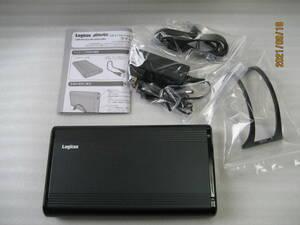 ロジテック HDDケース 外付け +SEAGATE 1TB 内蔵 USB3.0 3.5インチ ハードディスク ケース LHR-EKWU3BK