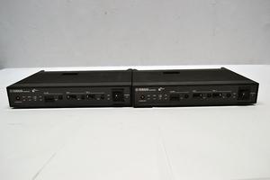 YAMAHA ヤマハ ブロードバンドVoIPルーター NVR500 初期化済み 電源アダプター付属 2個セット 1個のみ箱付き