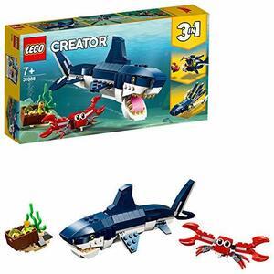 レゴ(LEGO) クリエイター 深海生物 31088 知育玩具 ブロック おもちゃ 女の子 男の子