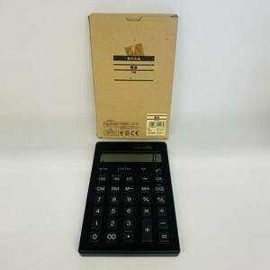 ★新品★ 無印 無印良品 電卓 12桁 ソーラータイプ 株式会社良品計画