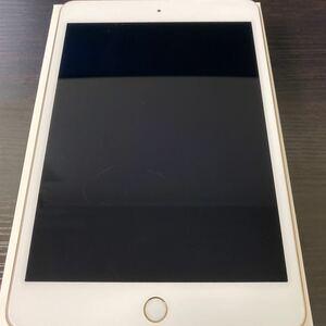 iPad mini 4 Wi-Fi 16GB ゴールド
