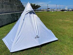 ワンポールテント Hill Stone od392 キャンプ アウトドア ソロキャン 3人用 4人用 ティピー タープ テント