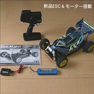 タミヤ ラジコン TT-02B プラズマエッジⅡ XB フルセット 新品ESC/新品モーター/フルベアリング