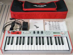 ALESIS Micron アレシス マイクロン アナログシンセサイザー 純正ケース付き