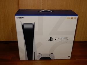 ♪新品 未開封 未使用 プレステ5 プレイステーション5 PlayStation5 PS5 本体 ディスクドライブ搭載 CFI-1100A01 購入レシート付 1年保証