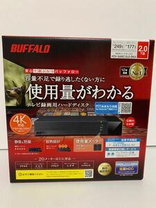 新品 BUFFALO 外付けHDD 2TB HDV-SAM2.0U3-BKA