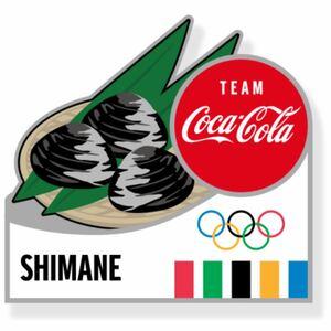 コカコーラ 都道府県 東京オリンピック  ピンバッジ コカ・コーラ Coca Cola ピンバッチ 島根県  ピンズ