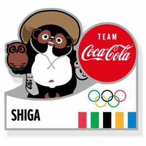 コカコーラ 東京オリンピック ピンバッジ 都道府県 滋賀県 ピンパッチ