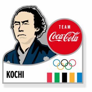 コカコーラ 東京オリンピック ピンバッジ 高知県 都道府県