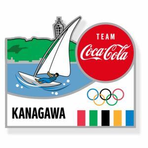 コカコーラ 東京オリンピック ピンバッジ 都道府県 神奈川県