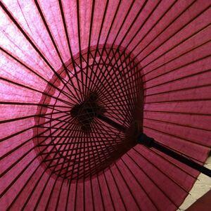 昭和レトロ 蛇の目傘 和傘 唐傘 工芸品 中古 難あり 送料無料