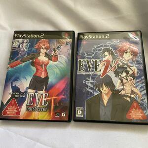 PS2 EVE バーストエラーPlus と ニュージェネレーション 2点セット【中古】