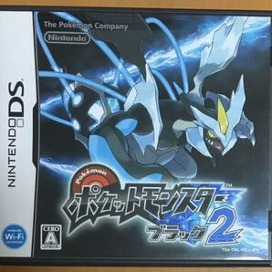 送料無料 DS ポケットモンスター ブラック2 ニンテンドー DS 黒 ポケモン ブラック Nintendo 任天堂 Pokemon RPG 即決