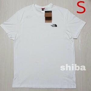 THE NORTH FACE ノースフェイス tシャツ 半袖 トップス 白 ホワイト シンプルドーム simple 海外Sサイズ