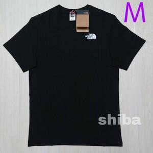 THE NORTH FACE ノースフェイス tシャツ 半袖 トップス 人気 黒 ブラック シンプルドーム simple 海外M