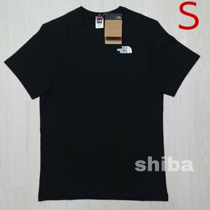 THE NORTH FACE ノースフェイス tシャツ 半袖 トップス 人気 黒 ブラック シンプルドーム simple 海外S